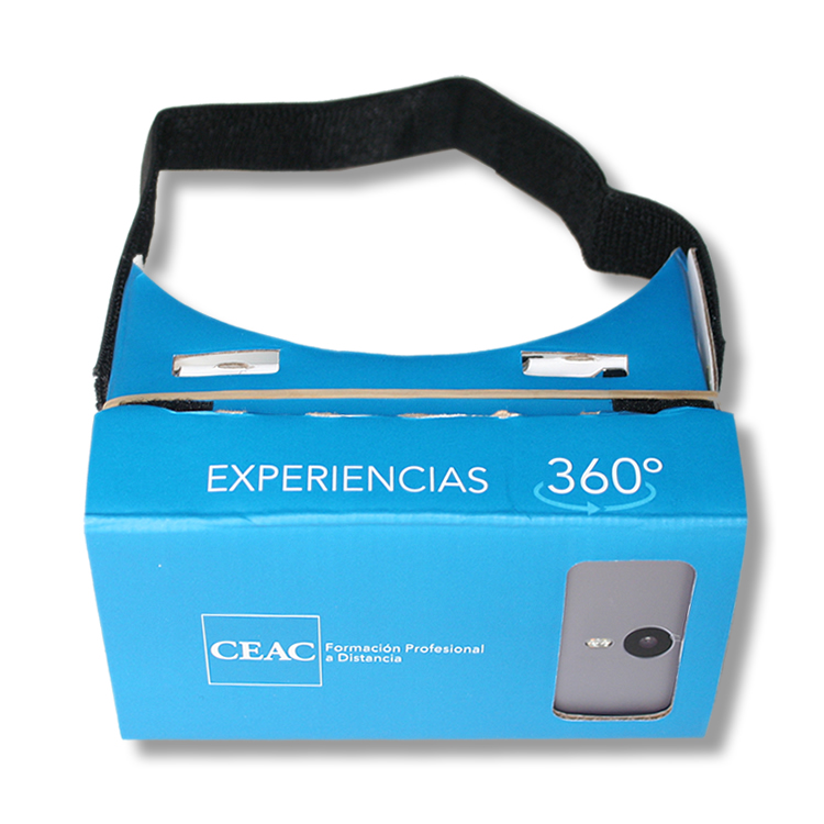 Virtual Reality Glasses made of CARDBOARD para ceac